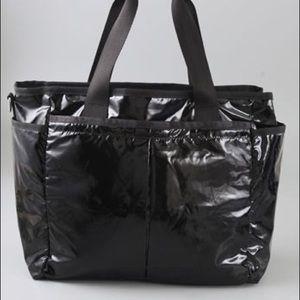 Lesportsac Baby/Diaper bag - Patent black